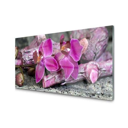 Obraz Akrylowy Drewno Kwiaty Roślina Natura