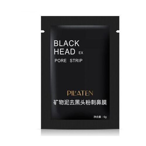 black mask maseczka czarna maska do twarzy węglowa oczyszczająca 6g saszetka marki Pilaten