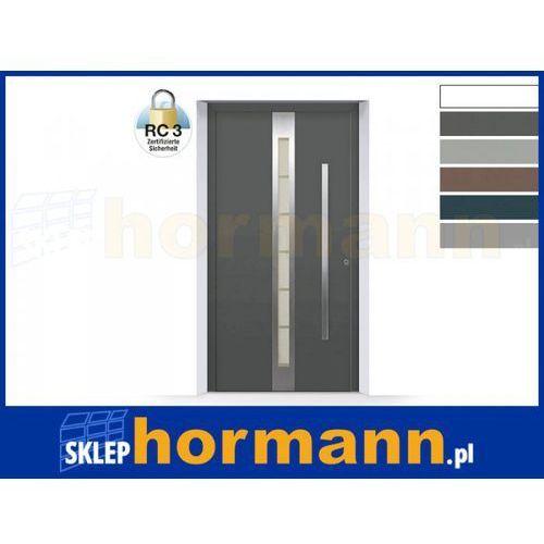 Hormann Drzwi aluminiowe thermosafe 2018, wzór 686, kolor do wyboru, przeciwwłamaniowe rc 3
