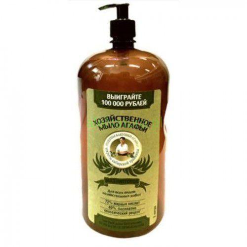 AGAFIA szare mydło w płynie Eukaliptusowe do sprzątania, prania i mycia naczyń 2 litry (4630007836829)
