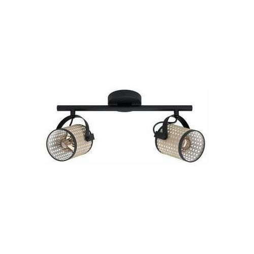 Eglo Ruscomb 43494 plafon lampa sufitowa 2x10W E27 czarny