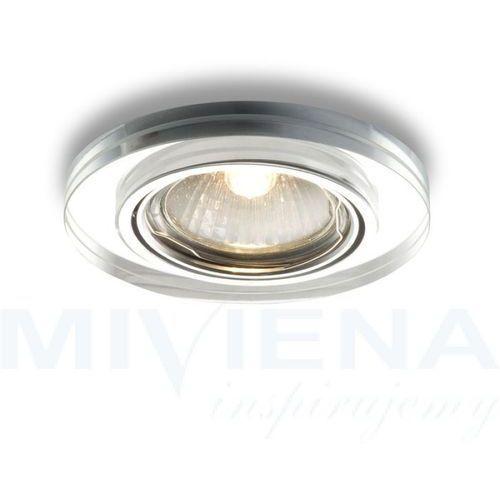 MIRROLA R wpuszcz kierunkowa szkło 230V GU10 50W, R10279