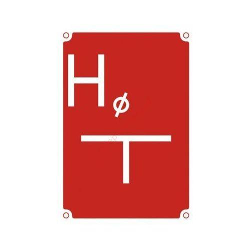 Znak Hydrant zewnętrzny podziemny 140x200, 9_800m100