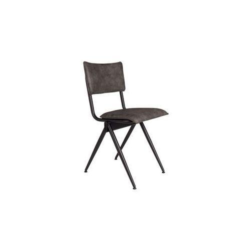 Dutchbone krzesło willow antracytowe 1100343 (8718548039292)