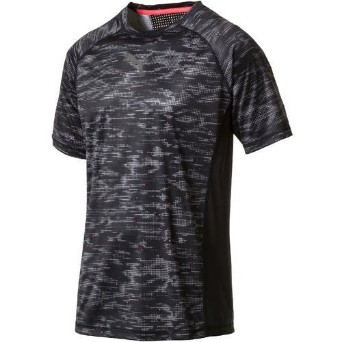 Puma koszulka sportowa vent ss graphic tee black quiet sha s (4056207896355)