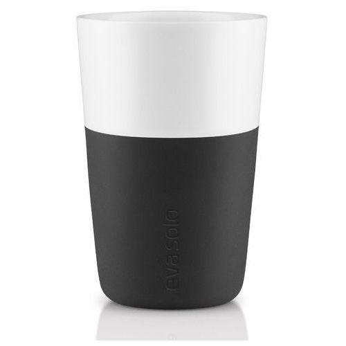 Eva solo - filiżanka do caffe latte 2 szt, - czarna (5706631052030)