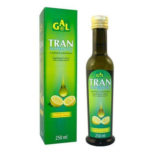 Płyn Tran norweski o aromacie cytrynowym 250 ml (Gal)