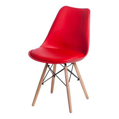 Krzesło Norden DSW PP czerwone 1613 - czerwony (5902385729444)