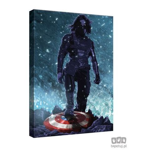 Obraz marvel capitan america: the winter soldier ppd343 marki Consalnet