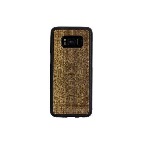 Samsung Galaxy S8 - etui na telefon Wood Case - Kalendarz Aztecki - limba, ETSM489WOODKAL000