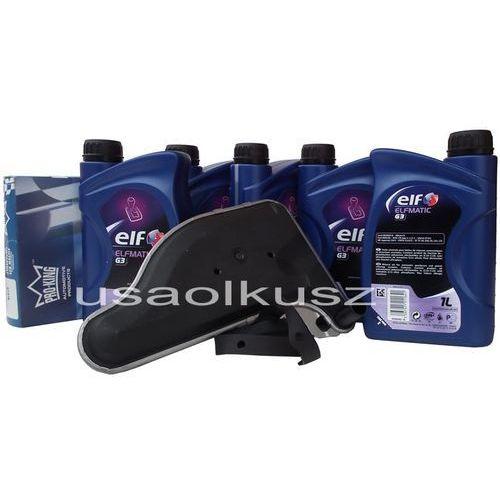 Filtr oraz olej ELF G3 automatycznej skrzyni biegów Cadillac DeVille 1991-1995