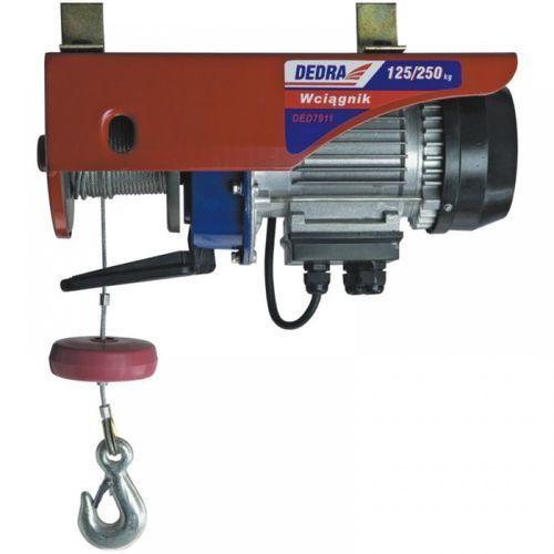 Wciągarka elektryczna DEDRA DED7913 1000 Watt + DARMOWY TRANSPORT! - sprawdź w wybranym sklepie