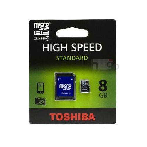 Toshiba 8gb microsdhc 8gb microsdhc klasa 4 pamięć flash (4047999323211)