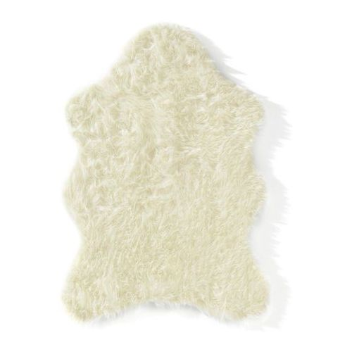 Sztuczna skóra owcza kremowy marki Bonprix