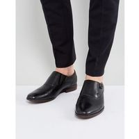 Aldo ales brogue monk shoes in black - black