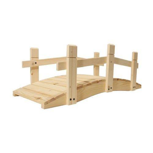 Most drewniany ogrodowy - bez zabezpieczonej powierzchni - 71 cm