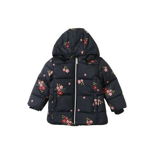 Name it kurtka zimowa 'nmfmay puffer jacket1' ciemny niebieski / czerwony (5713772527693)