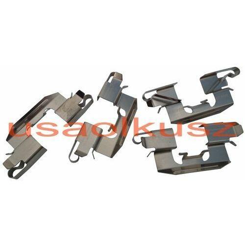 Zestaw montażowy tylnych klocków hamulcowych mazda cx-7 cx7 marki Delphi
