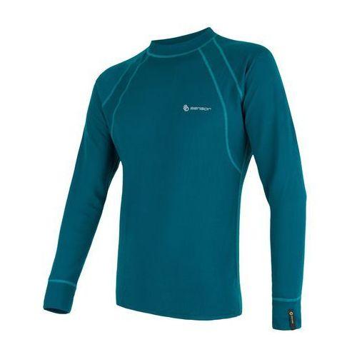 Bielizna termoaktywna Double Face Men's T-shirt Long Sleeves Niebieski/Turkus XL, kolor niebieski