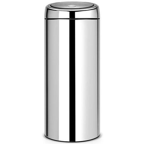 Kosz na śmieci 30 litrów touch bin stal szlachetna połysk marki Brabantia