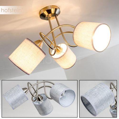 Stai lampa sufitowa nikiel matowy, 3-punktowe - nowoczesny - obszar wewnętrzny - deckenleuchte - czas dostawy: od 4-8 dni roboczych marki Hofstein