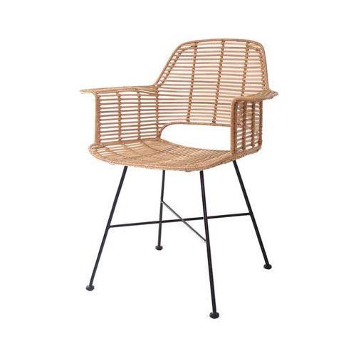 Krzesło rattanowe tub naturalne - marki Hk living