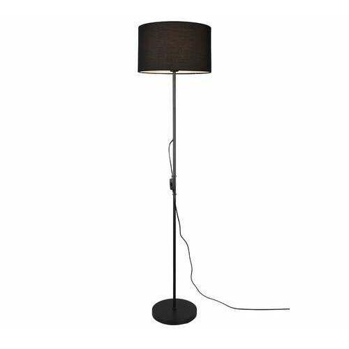 Trio rl tarkin r40131002 lampa stojąca podłogowa 1x40w e27 czarna/czarna (4017807489590)