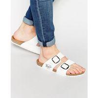 slip on sandals - white, Original penguin
