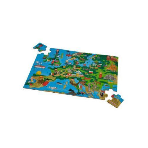 - puzzle mapa europy marki Eichhorn