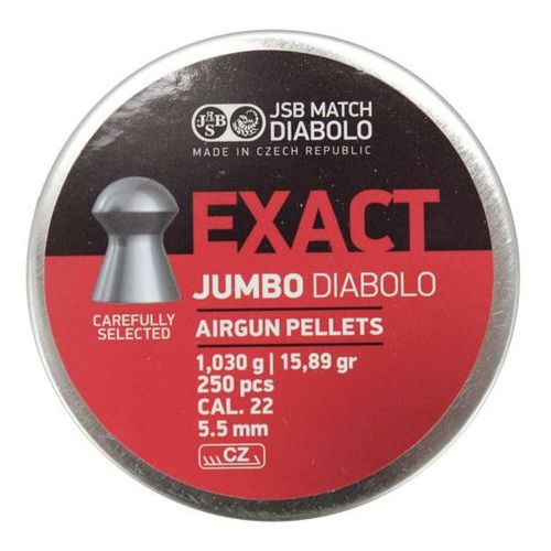 Śrut Diabolo JSB EXACT 5,50 mm 250szt. (061-008), towar z kategorii: Amunicja do wiatrówek