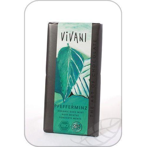 Vivani: czekolada z miętą pieprzową BIO - 100 g, 4044889001051