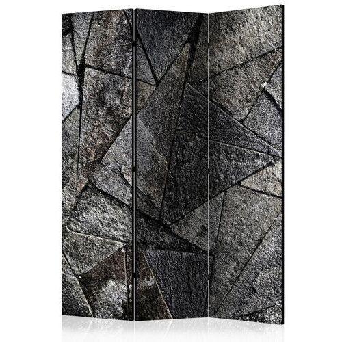 Artgeist Parawan 3-częściowy - płytki chodnikowe (szary) [room dividers]