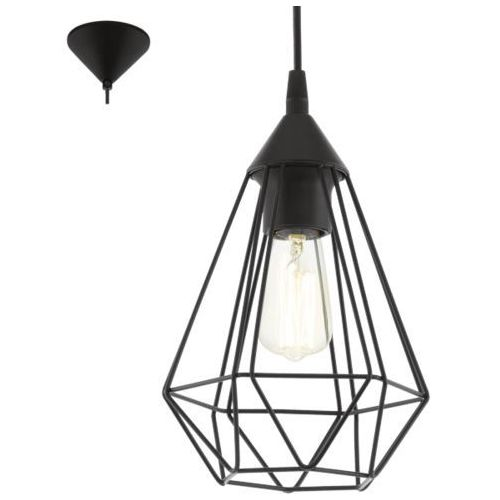 Lampa wisząca 1x60w tarbes, 94187 marki Eglo