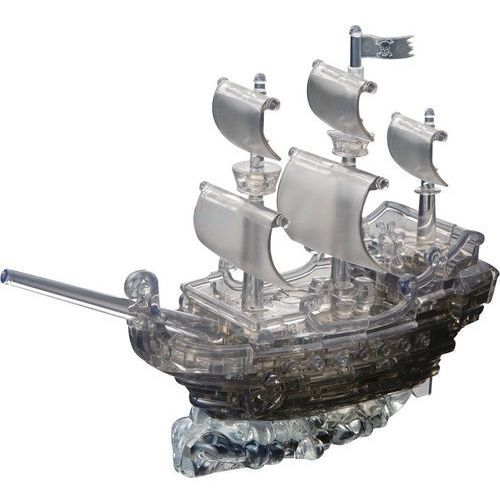 Crystal puzzle duże statek piracki