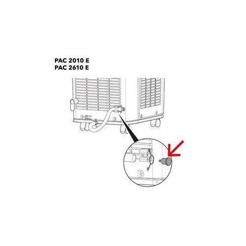 Trotec Pac 2010 e / pac 2610 e zatrzymanie odpływu dół