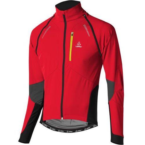 Löffler san remo ws softshell light kurtka mężczyźni czerwony 48 kurtki softshell (9008805791889)