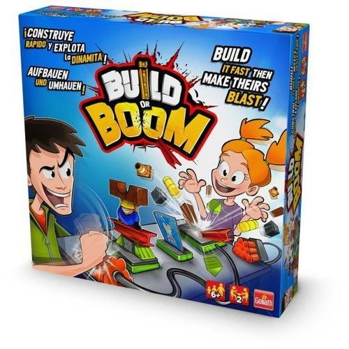 Gra Build or Boom - DARMOWA DOSTAWA OD 199 ZŁ!!!
