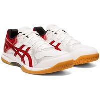 Męskie buty halowe gel-rocket 9 1071a030-101 biały/czerwony 42,5 marki Asics