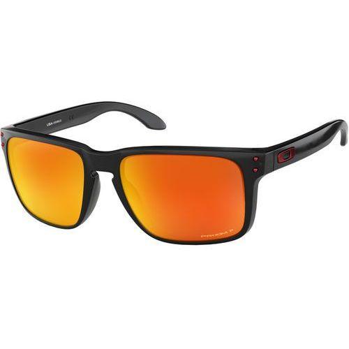 Oakley Holbrook XL Okulary rowerowe pomarańczowy/czarny 2018 Okulary przeciwsłoneczne