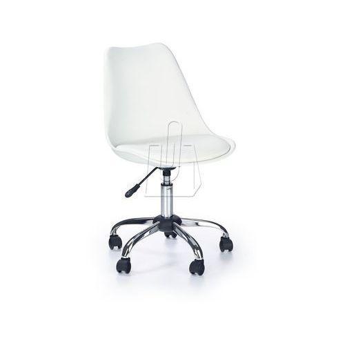 Fotel młodzieżowy halmar COCO biały, 97660