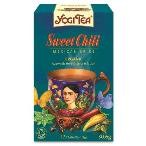 Yogi tea, usa Herbata słodkie chili bio (yogi tea) 17 saszetek po 1,8g