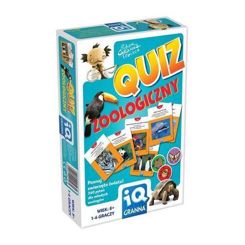Gra quiz zoologiczny - poznaj zwierzęta świata marki Granna