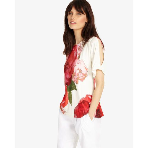 Phase eight marie floral cold shoulder top