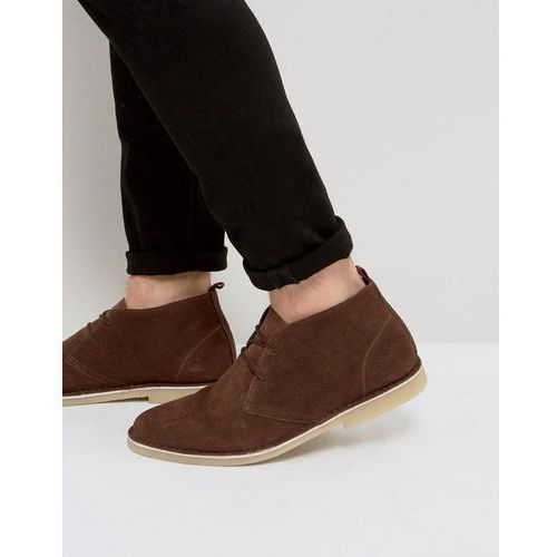 Kg kurt geiger Kg by kurt geiger maltby desert boots brown suede - brown