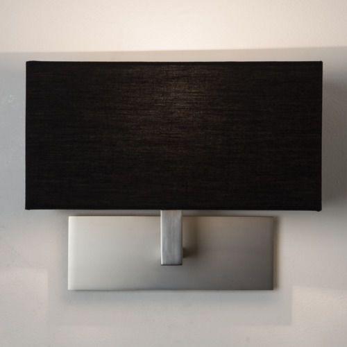Park lane wall light mn with black shade marki Astro