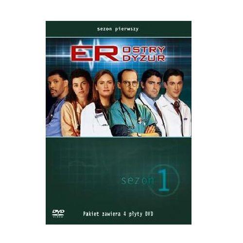 Ostry dyżur, sezon 1 (4xDVD) - Michael Crichton DARMOWA DOSTAWA KIOSK RUCHU