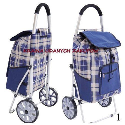 Wózek na Zakupy XL kółkach z łożyskami Aluminiowy
