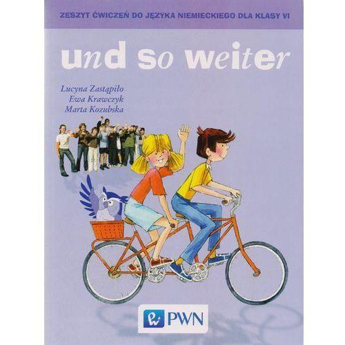 und so weiter Zeszyt ćwiczeń do języka niemieckiego dla klasy 6, Wydawnictwo Szkolne PWN