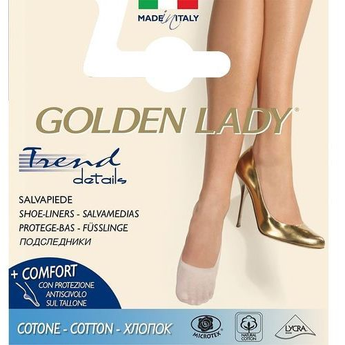Baletki Golden Lady 6N Cotton 35-38, beżowy/natural. Golden Lady, 35-38, 39-42, bawełna