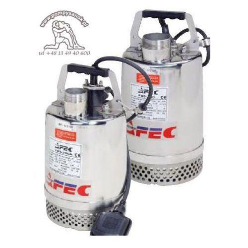Fss 400 - pompa odwodnieniowa ze stali kwasoodpornej hmax - 11, wydajność do 233 l/min - zamiana na proril x-smart 400 marki Afec